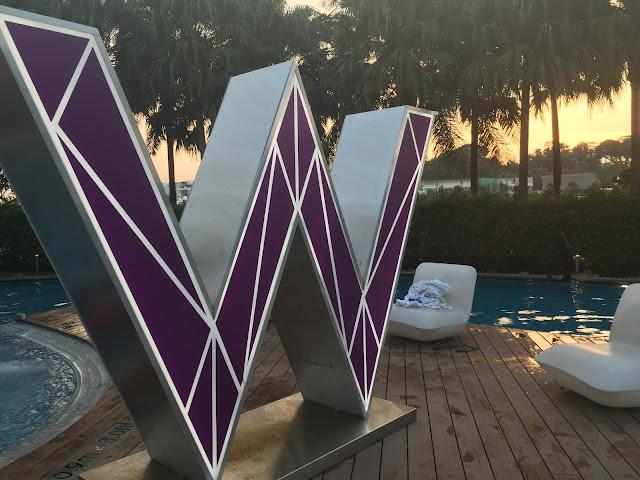 W hotel Sentosa,W logo