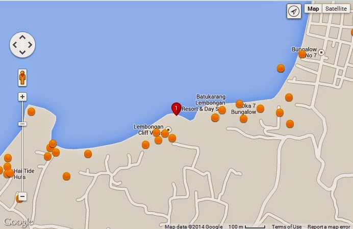 Selambung Beach & Cliff Huts Bali Location Map,Location Map of Selambung Beach & Cliff Huts Bali,Selambung Beach & Cliff Huts Bali accommodation destinations attractions hotels map reviews photos pictures