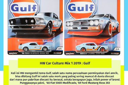 Hot Wheels Car Culture Mix 1 2019 : Gulf