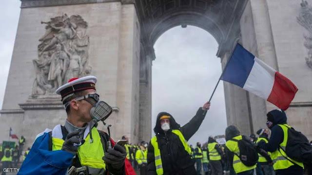 فرنسا تلغي ضريبة الوقود نهائيا بعد انتفاضة السترات الصفراء الكبري