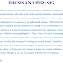 Idioms and Phrases Stock Practice Exercises Solved Examples PDF