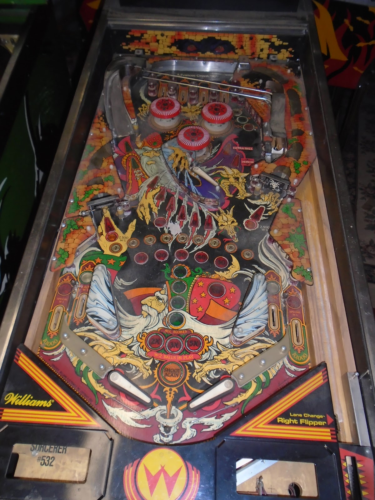 Wiliams swinger pinball