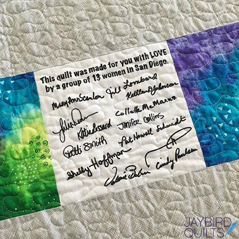 Quilts For Pulse | Jaybird Quilts : san diego modern quilt guild - Adamdwight.com