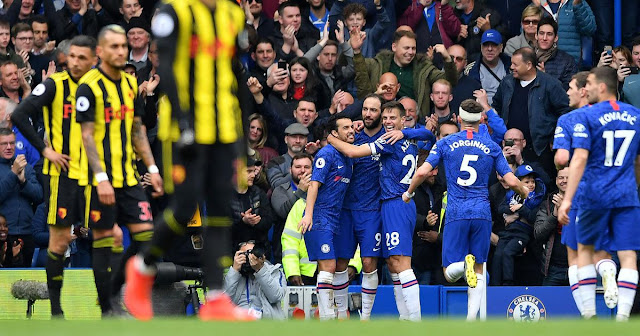 Chelsea 3-0 Watford - He s Staying!