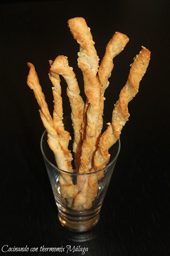 Piquitos italianos (tipo Grissini)