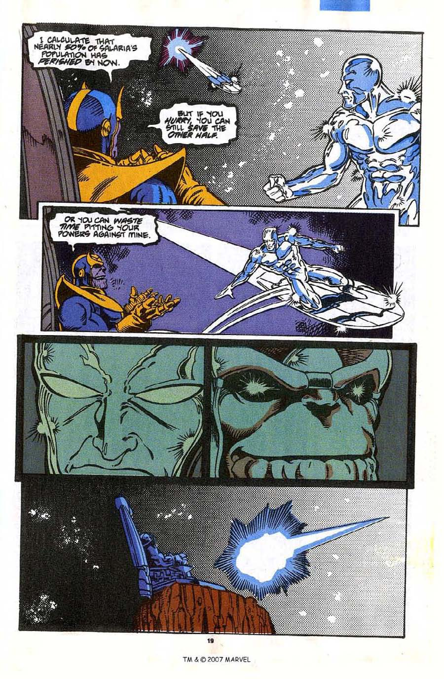Read online Silver Surfer (1987) comic -  Issue #35 - 21