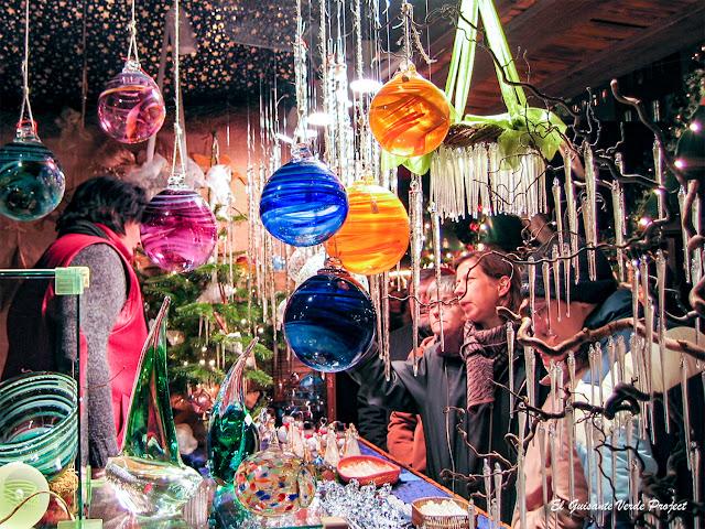 Colonia, artesania de cristal en los Mercados de Navidad por El Guisante Verde Project