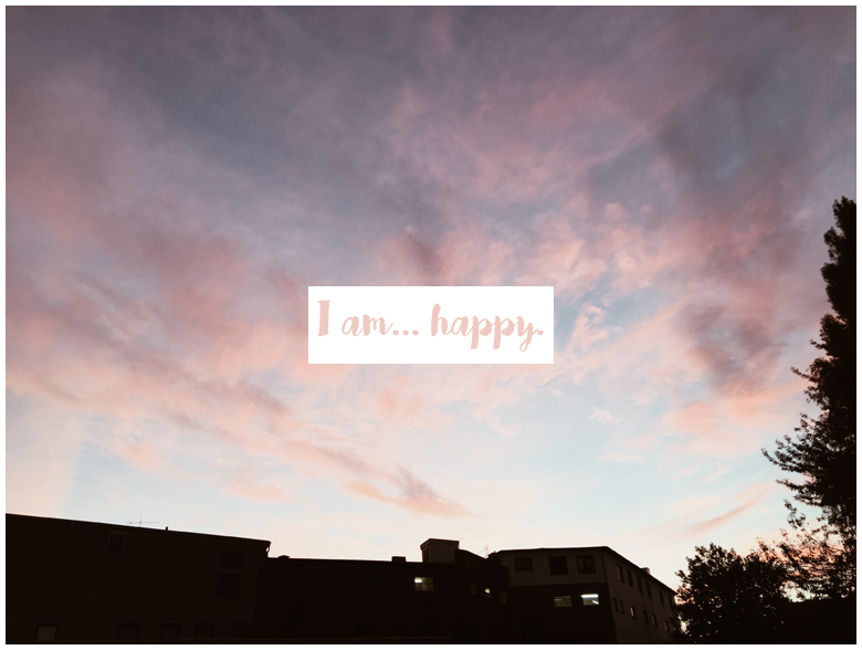 Infinite Days Of Happiness Project – I Am Happy