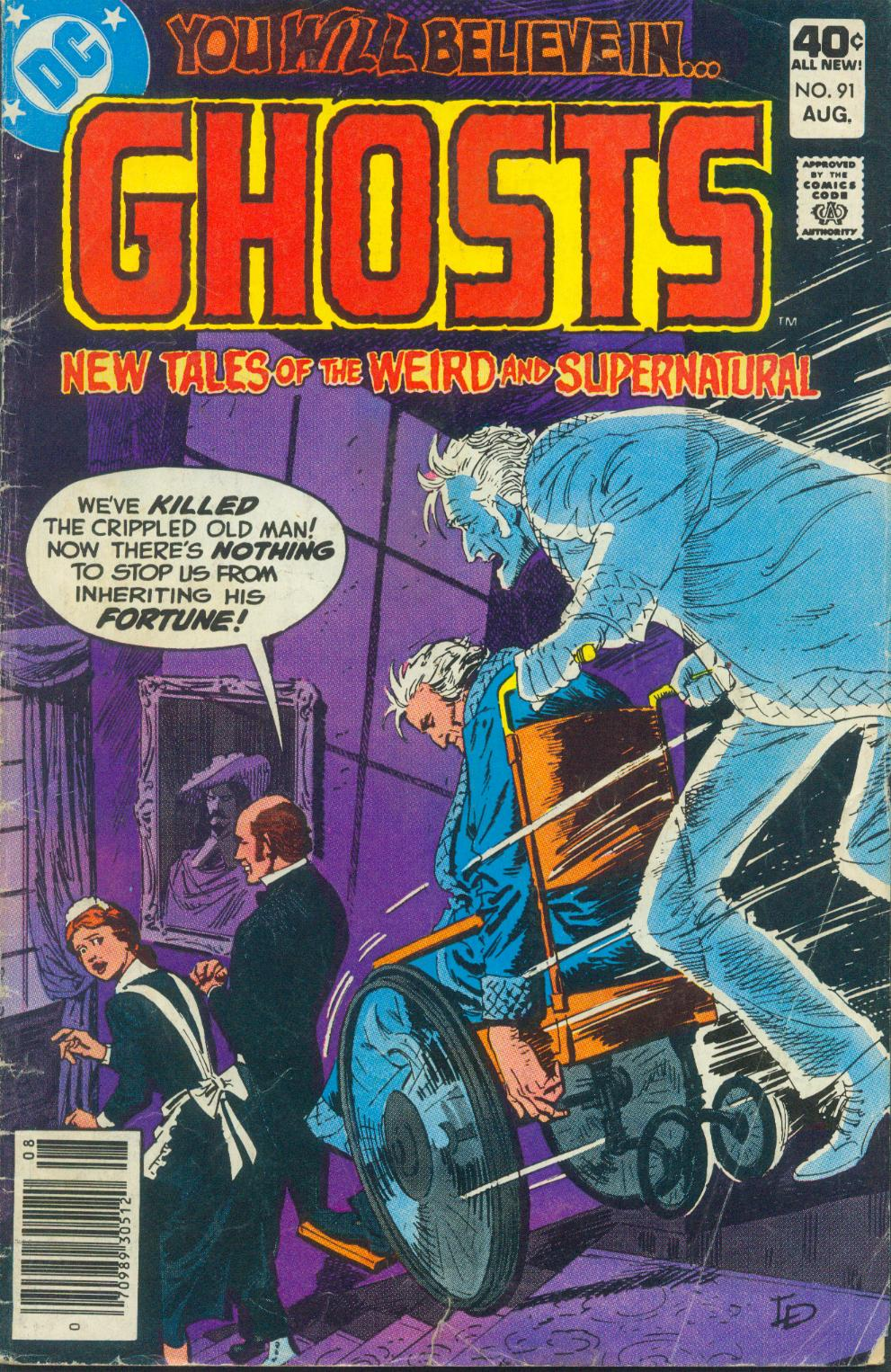 Read online Ghosts comic -  Issue #91 - 2