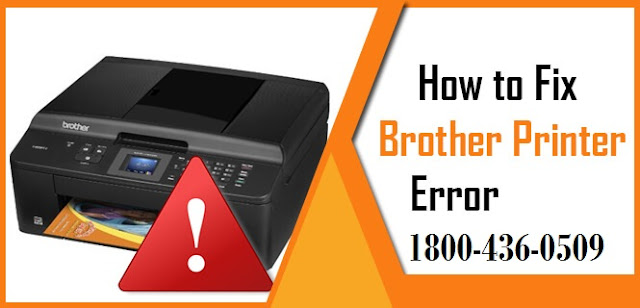 how to fix Brother Printer Error