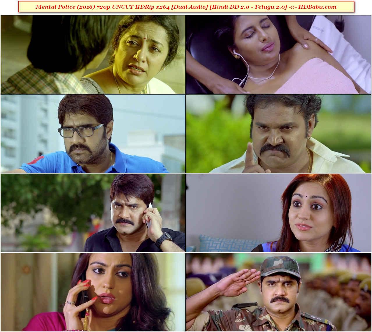 Mental Police Hindi Dual Audio Full Movie Download 720p 2017