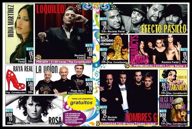 Getafe Fin De Fiesta: MADtime: Conciertos De Las Fiestas De Getafe 2013