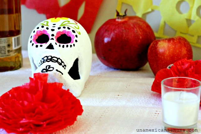 Ofrenda de Día de Muertos y Panquecitos inspirados en esta Tradición Mexicana by www.unamexicanaenusa.com