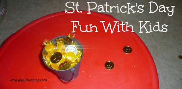 simple and fun way to make the kids think a Leprechaun came to visit for St Patrick's Day, St Patrick's Day fun, fun way to celebrate St Patrick's Day with the kids,