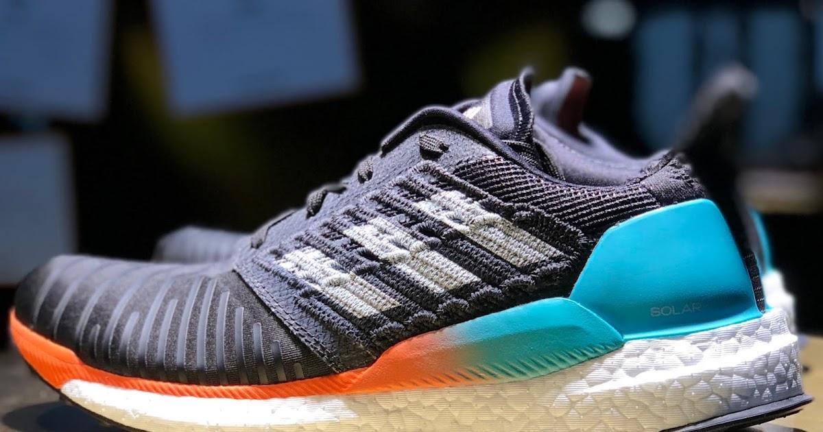 adidas Solar Boost Herren Laufschuhe marine