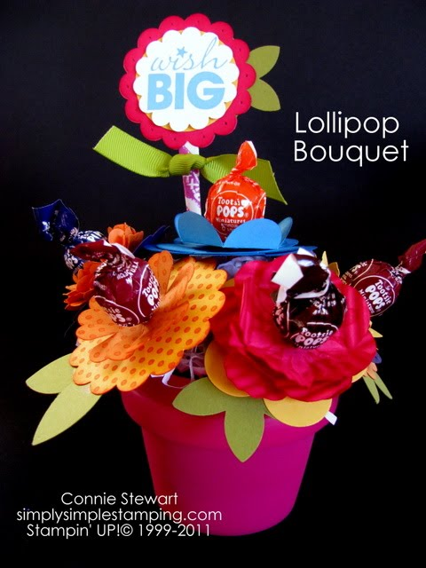 Lollipop Bouquet - Simply Simple Stamping