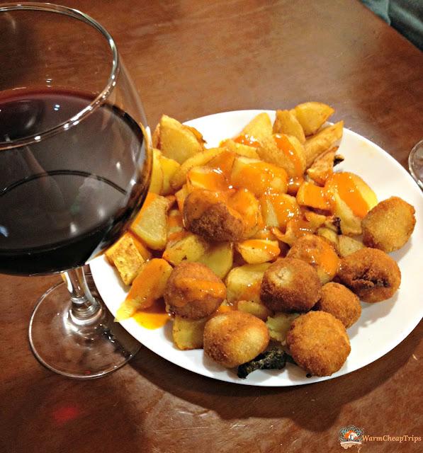 tapas, vino tinto, tinto de verano, el tigre madrid, Madrid, dove mangiare a madrid, churros, jamon, montaditos, bocadillo de calamares, cibo a madrid, piatti spagnoli