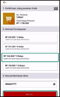 Cara Kredit Di Shopee Bayar Cicilan Dengan Akulaku Kredivo Credit Card Raliashop