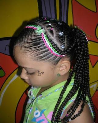 peinados de niñas con cintas faciles