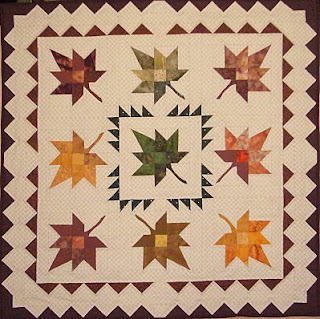 Quilt Inspiration: Free Pattern Day ! Autumn Leaves quilts : maple quilt - Adamdwight.com
