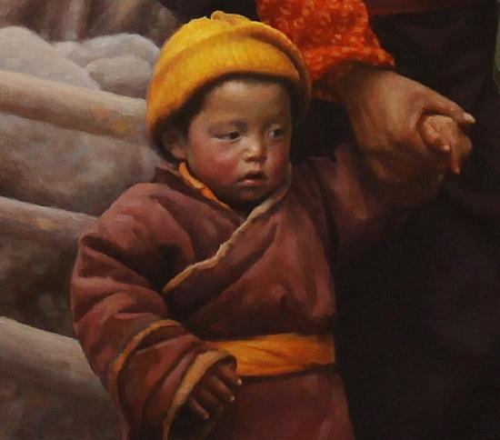 Benjamin Wu 1961 Chinese Figurative Artist Fine Art