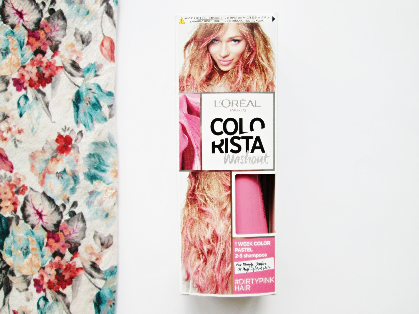 L'Oreal Colorista Dirty Pink