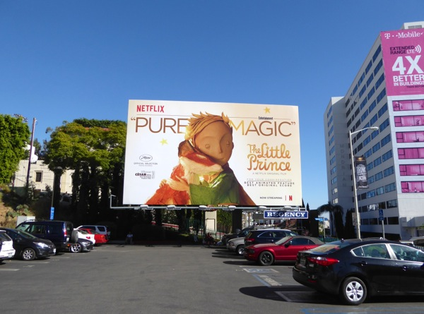 Little Prince consideration billboard