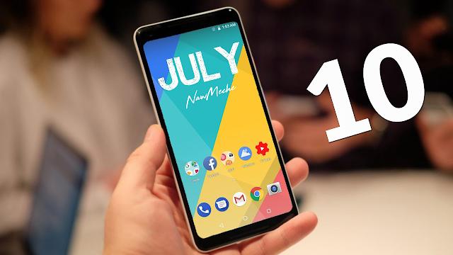 أفضل 10 تطبيقات أندرويد لشهر جويلية 2018