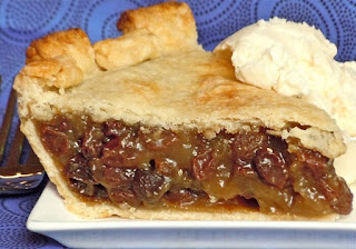 Sit Down And Enjoy A Piece Of Grandma's Old Fashioned Raisin Pie