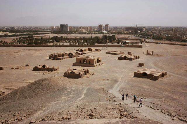 Torre del silencio en Yazd