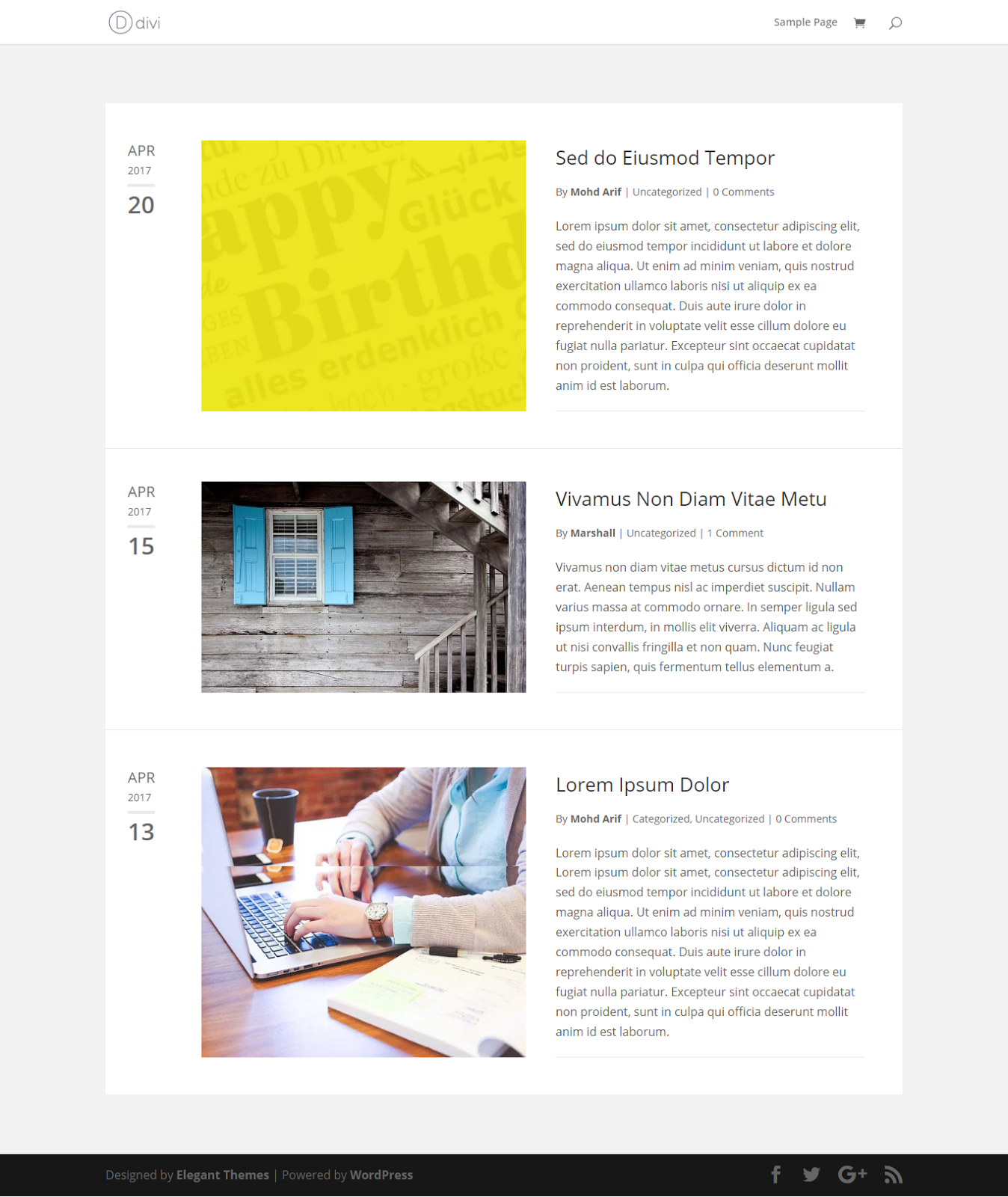 How to Customise the Divi Theme Blog Layout