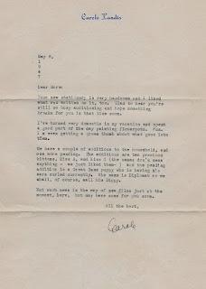 Carole Landis 1947 Letter