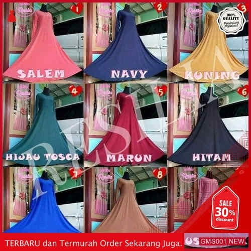 GMS001 RSL001R238 Resilia Gamis Jersey Polos Dropship SK0932625112