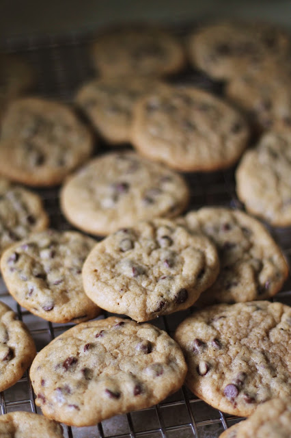 Chocolate Chip Cookies via @labride