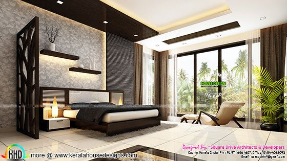 Beautiful bedroom interior