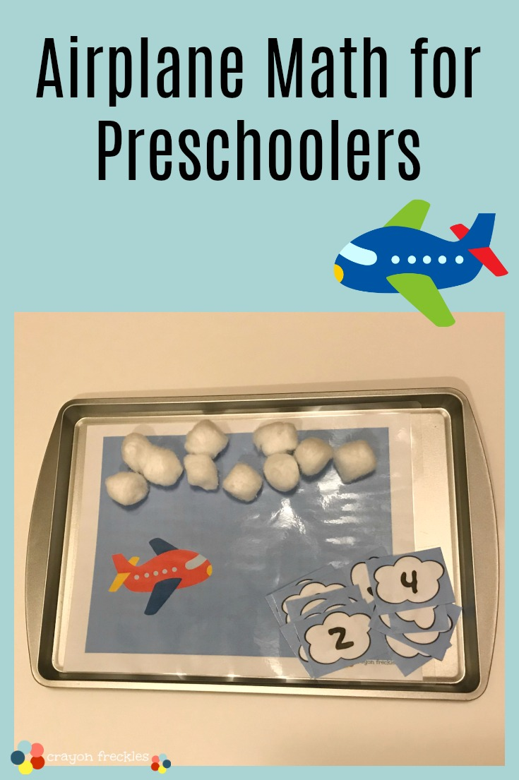 Crayon Freckles: Cloud Airplane Learning Activities for Preschoolers