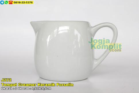 Tempat Creamer Keramik Porselin