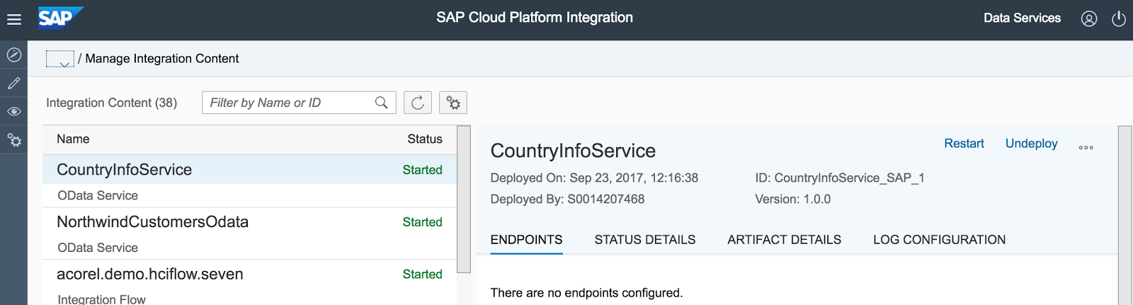 Odata Provisioning in SAP Cloud Platform Integration - Acorel