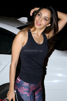 Kiara Advani Black Tank Top Tight leggings Tu Cheez Badi Hai Mast Mast~  Exclusive 58.JPG