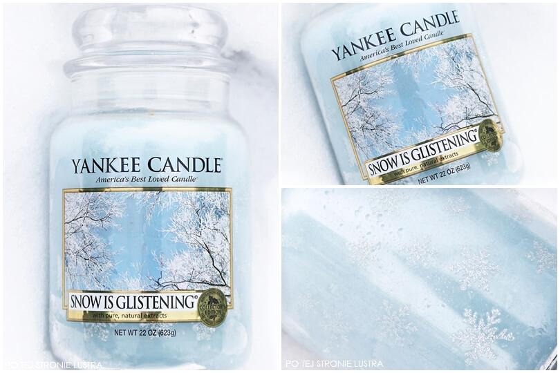 snow is glistening yankee candle stara wersja