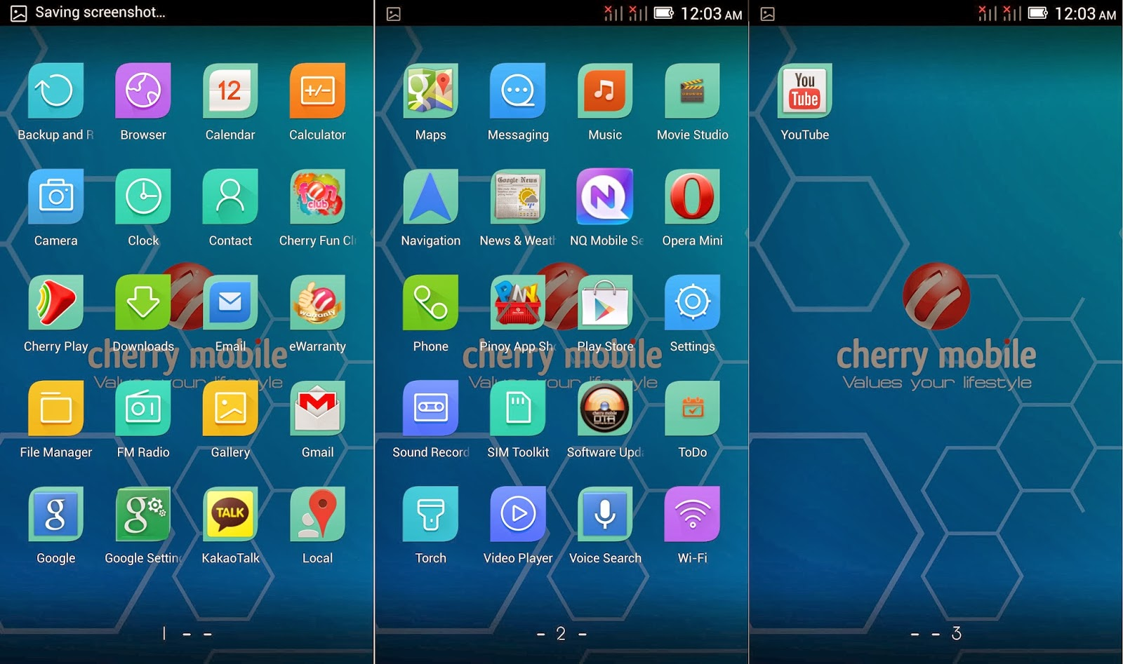 Cherry Mobile Cosmos Z2 Review Default Apps