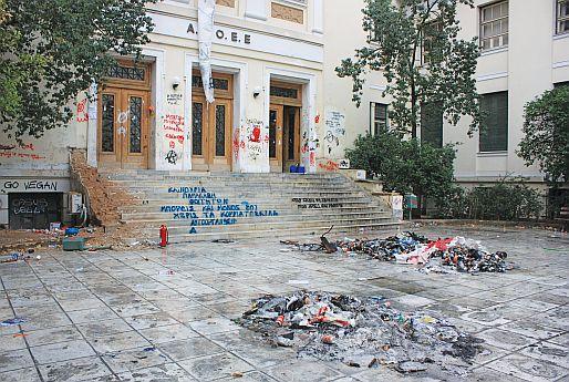 Η απουσία «φοιτητοπατέρων» και συνδικάτων