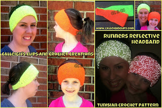 Reflective Running Headband