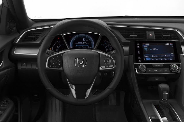 Novo Honda Civic 2017 - EXL - interior