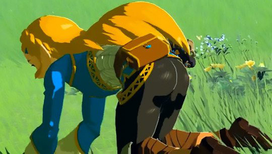 Princess Zelda ass