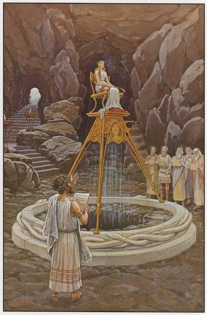 Pythia the Delphi Oracle  J. Augustus Knap