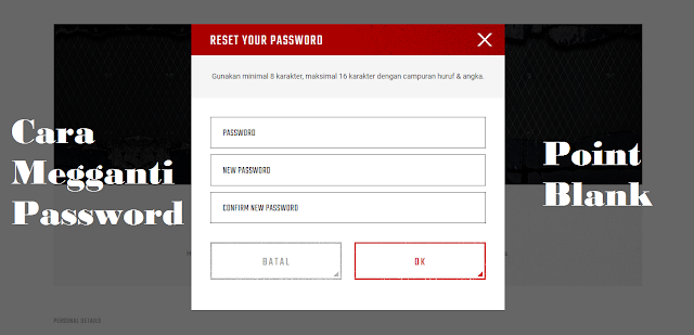 How to change Zepetto 2021's latest PB (Point Blank) password