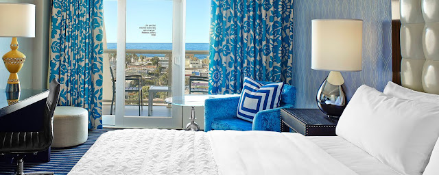 Book your stay at Le Méridien Delfina Santa Monica, a luxury hotel presenting boutique accommodations near Santa Monica's iconic beachfront.