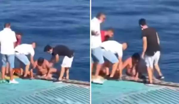 Έριξαν πρόστιμο στον 67χρονο που παραλίγο να πνιγεί ενώ διέσχιζε κολυμπώντας το Ρίο-Αντίρριο (video)