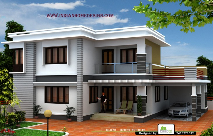 Pictures Of Kerala Houses And 3D Exterior Plan Indianhomedesign Com